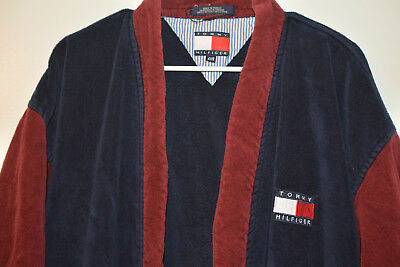 Tommy Hilfiger Vintage Bath Robe One-Size-Fits-All 90s 1990s