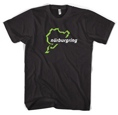 Nurburgring Tee cars, track, race, import, jdm, type r, m3, m5, green hell