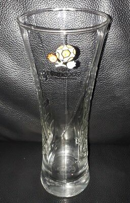 Rare Collectable Uefa Euro 2012 Poland-Ukraine Carlsberg 330Ml Beer Glass