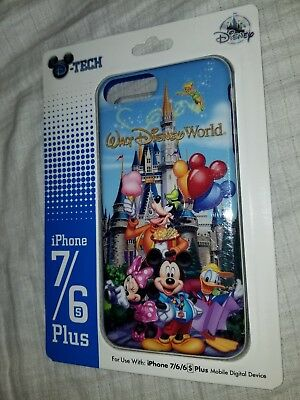 Disney Parks Castle Tinkerbell Mickey Donald Goofy Minnie iPhone 6 6s 7 PLUSCase