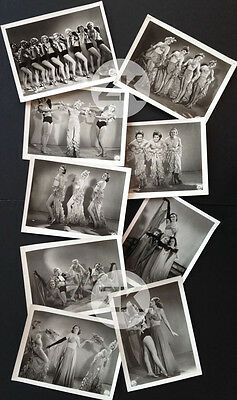 LE BILLET DE MILLE Danseuse Cabaret PIN-UP Film Comédie Musical 9 Photos 1934