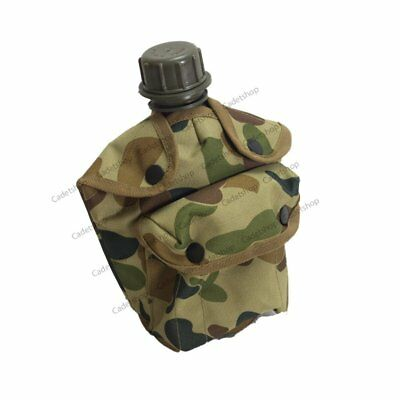 HTS Auscam Canteen Pouch Military Camping Field Gear Webbing