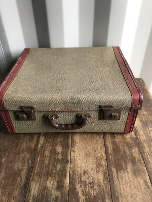 -VINTAGE- Snakeskin Style Patterned SUITCASE LUGGAGE,  TRUNK CHEST BOX
