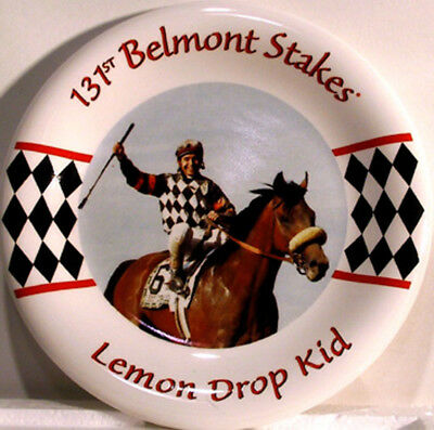 Equestrian, Lemon Dropkid - 131st Belmont Stakes, Collectible Plate