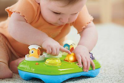 New Fisher Price Musical Pop-Up Eggs w/ Lights & Sounds Fun Baby Toy 6-36 Months