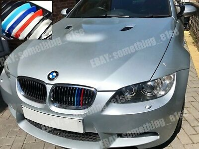 BMW 3,2006-10,e92/e93 coupe/convertible,Grill M 3/tri-Color Cover/Cap/Clip/strip
