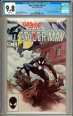 Web of Spider-Man #1 CGC 9.8 NM/MT WHITE PAGES