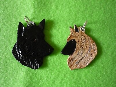 Belgian Sheepdog Necklace