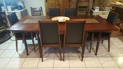 FOSTER McDAVID FURNITURE, INC. DINING CHAIRS-MID CENTURY MODERN-SET OF 6