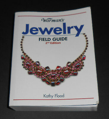 WARMAN'S JEWELRY FIELD GUIDE Kathy Flood 2nd Edition Pocket Book price gold