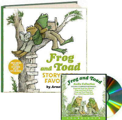 Frog and Toad Storybook Treasury & Audio CD Set by Arnold Lobel (Hardcover & CD)