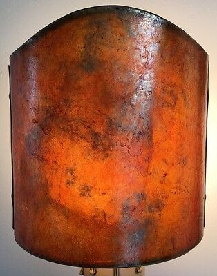 Copper & MICA Lamp shade for WALL SCONCE antique Style Spanish Mission