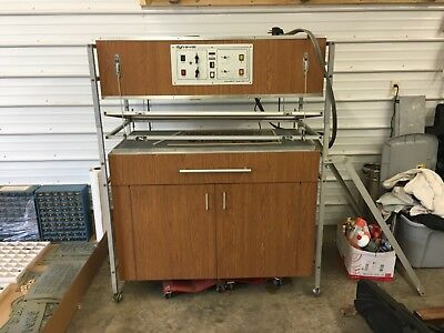 DYN-A-VAC Vacuum Forming Sign Machine WITH TONS OF EXTRAS (MAKE AN OFFER!!!!!)
