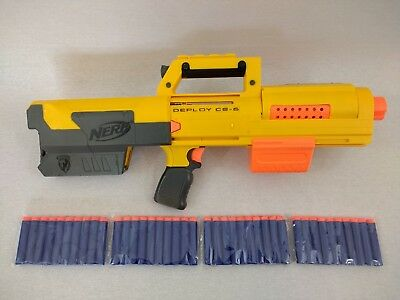 Nerf N-Strike Deploy CS-6 Gun Blaster with Target Light & 40 Bullets Free Post