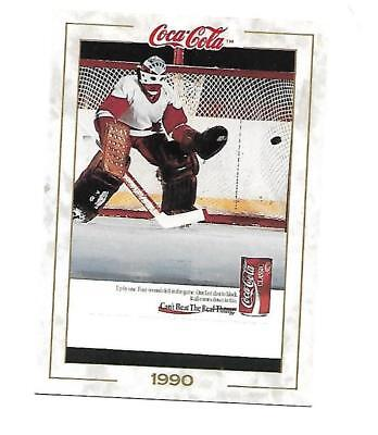 Coca Cola Collection (1993) 1990 # 95 You Can't Beat the Real Thing Ice Hockey