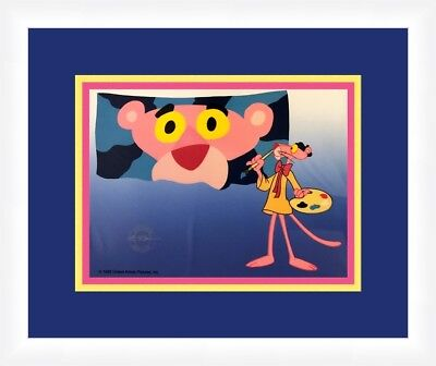 Pink Panther SerIcel Self Portrait Custom Framed FREE SHIPPING