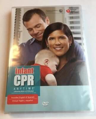 Family & Friends CPR Anytime American Heart, DVD/Span/Eng - DVD ONLY