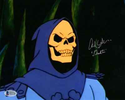 ALAN OPPENHEIMER SIGNED AUTOGRAPHED 8x10 PHOTO VOICE SKELETOR MOTU BECKETT BAS