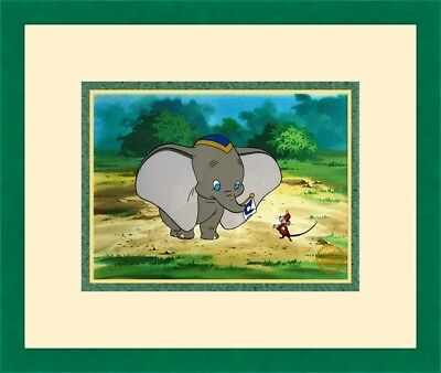 Walt Disney L/ED Dumbo Animation Sericel Custom Framed FREE SHIPPING