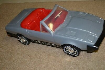 """Triumph Grand Prix G-800+S 70 Convertible GAY Toys The Wedge Gray Goodyear ~16"""""""