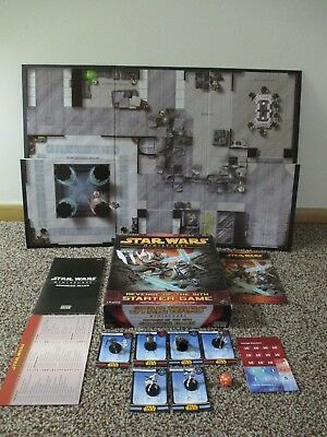 Star Wars Miniatures Revenge Of The Sith Starter Game 100% Complete Euc 2 Player