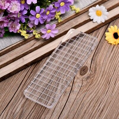 New Transparent Acrylic Block Pad For Scrapbooking Color Stamping Block Tool 1PC