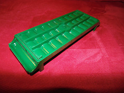 MMF Porta Count Coin Tray For $50 Dimes - Abs Plastic - Green (MMF212081002)