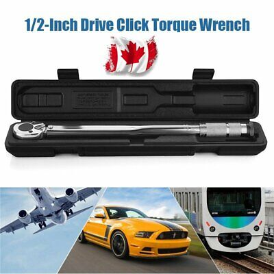1/2-Inch Drive Click Torque Wrench (10-150 Ft-lb. / 28-210 Nm) /w Case Canada