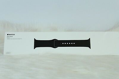 Apple Watch Sport Band 42mm Black Space Gray Pin MJ4N2ZM/A BRAND NEW