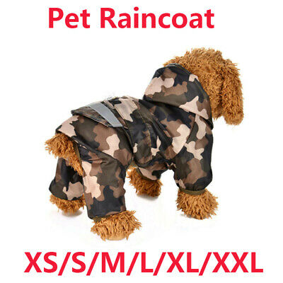 Waterproof Pet Dog Puppy Vest Jacket Warm Winter Dogs Clothes Outdoor Rain Coat