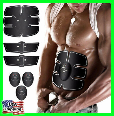 Ultimate ABS Simulator EMS Training Body Abdominal Arm Muscle Exerciser Home US