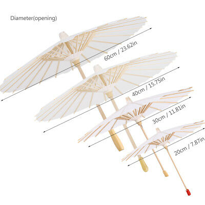 Chinese Vintage Paper Umbrella Wedding Decor Photo Shoots Parasol Dance Prop GL