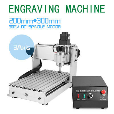 3Axis Engraver Usb Cnc3020 3D Cutter Router Engraving Drilling Milling Machine