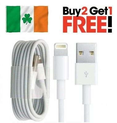 Lightning Charger Cable Lead Cord for Apple iPhone 5 6 7 SE iPod