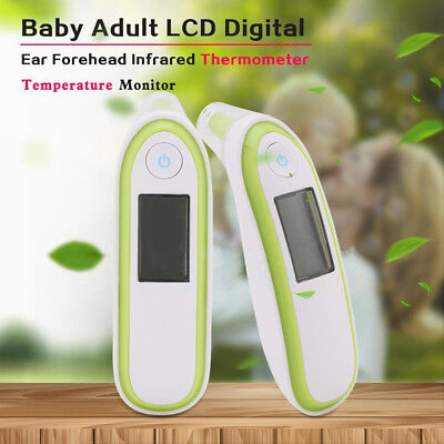 Ohrthermometer LCD Baby Digital Fieberthermometer Ohr Infrarot Körper Thermomete