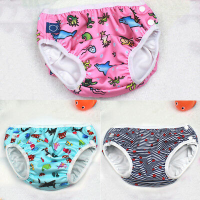 Baby Swim Nappy Diaper Leakproof Reusable Infant Boys Girls Pants Shorts