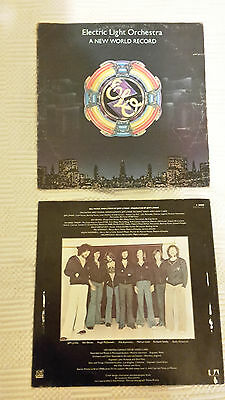 Electric Light Orchestra A New World Record LP ELO Made in Australia