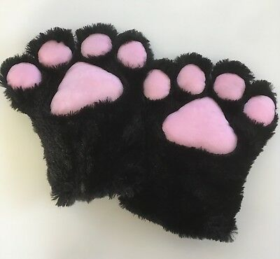 Cosplay Bear Cat Paws Soft Ladies Animal