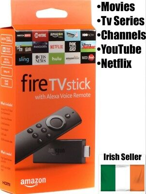 New Amazon Fire Tv Stick Alexa Movies Tv Series Channels Free Shipping Ireland