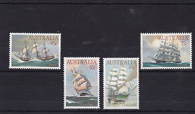 1984 Clipper Ships Australia MNH MUH Mint Set (02052046)