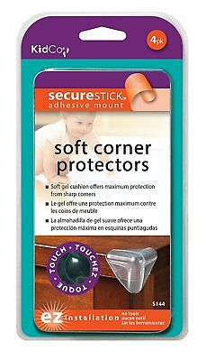 KidCo Soft Corner Protectors - Clear - 4 ct, New, Free shipping, 218