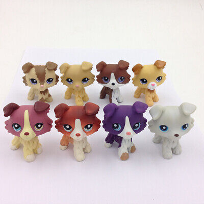 5X LPS Littlest Pet Shop Random Sets #2210#2452#1542#1262 Collie Puggy Dog Rare
