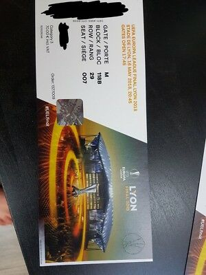 2 TICKETS Billets Europa League Finale Lyon 16.05.2018 ...