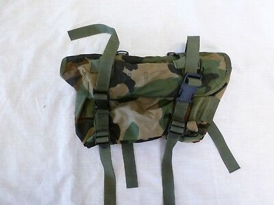 US ARMY FIELD TRAINING WAIST BUTT PACK ALICE WOODLAND CAMOUFLAGE BAG New #002