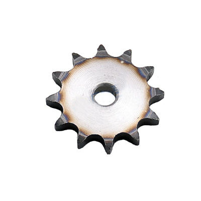 "08B #40 Flat Chain Drive Sprocket 10T-13T Pitch 1/2"" 12.7mm For #40 Roller Chain"