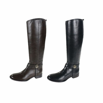 22ff4b3a5 NIB TORY BURCH BRISTOL 30MM Tall Leather Riding Boots 7-9  595+ ...