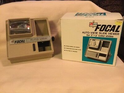 Kmart Focal Auto View Slide Viewer With Box