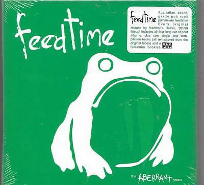 FEEDTIME The Aberrant Years FOUR CD SET w/ many rare or unreleased songs SEALED