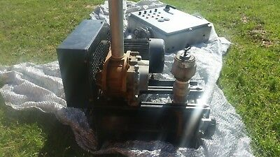 Dresser Roots Blower package 2 5HP blowers & control system 250 cfm at 5 psi