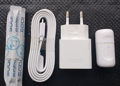 New Iqos Accessories Set, Usb Power Supply & Usb Cable, Cleaner, Cleaning Sticks